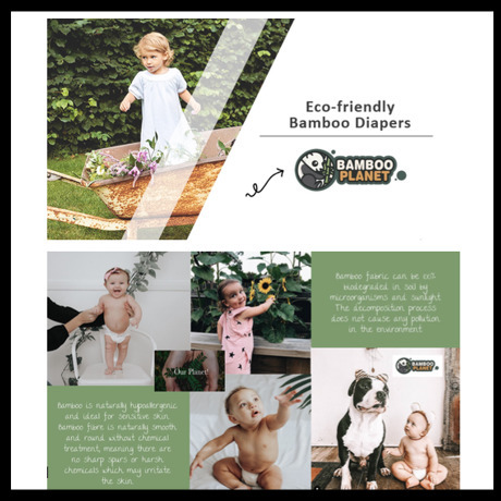 Eco Bamboo Diapers (Bamboo Planet)