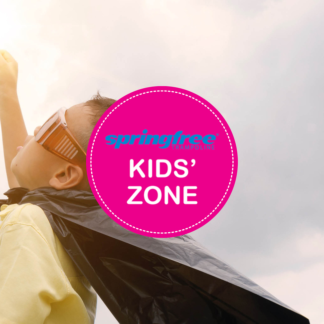 Kids' Zone - brought to you by Springfree Trampoline